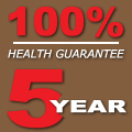 Gunbil Five year health and temperament guarantee