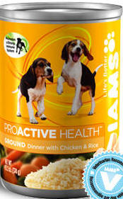 Iams® ProActive Health™ Puppy Ground Dinner with Chicken and Rice